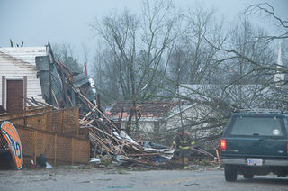 Damage at Salem Alabama