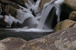 Freezing Mountain Stream