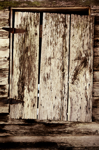 Hinged Barn Window